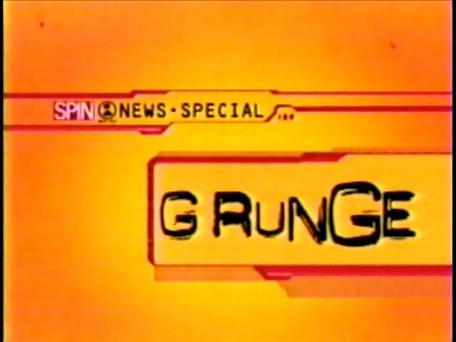 VH1 News Special Grunge
