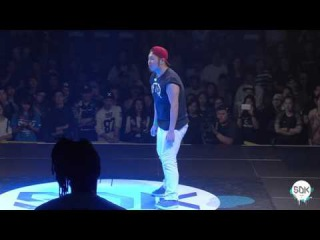 SDK ASIA 2016 Finals - Hip Hop 1on1 - Shun Vs AJ |