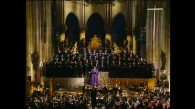 Jessye Norman sings Gounod's Sanctus from Messe solennelle
