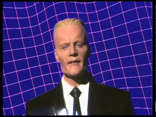 The Art of Noise with Max Headroom Paranoimia Official Video