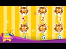 How many tiger lions Counting animals English education song for Kids Let's sing with lyrics