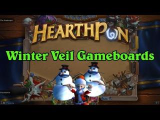 Winter Veil 2015 Gameboard Changes - Hearthstone