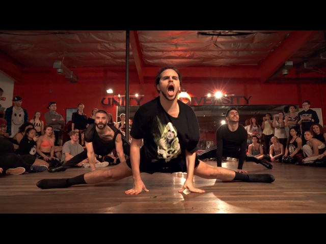 YANIS MARSHALL HEELS CHOREOGRAPHY BABY ONE MORE TIME BRITNEY SPEARS. FEAT ARNAUD MEHDI