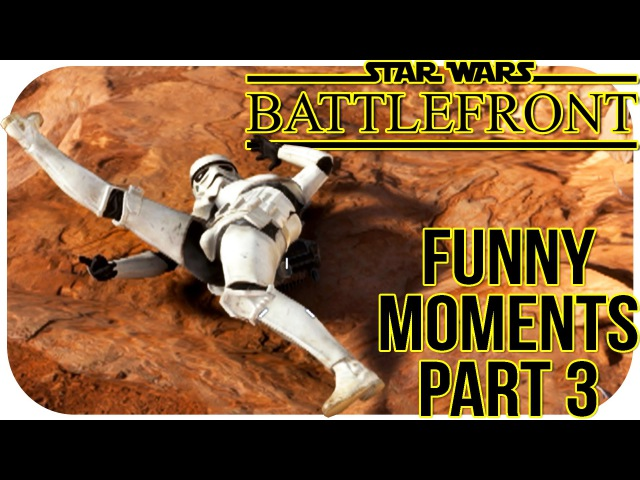Star Wars Battlefront 3 Beta FUNNY MOMENTS PART 3 Wiggle Glitch John Cena