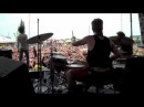 Tanner Wayne w/ Underoath A Boy Brushed Red Living In Black And White Live @ Warped Tour 2009