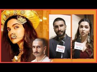 Spl. Interview with 'Bajirao Mastani' Star Cast Ranveer Singh and Deepika Padukone on Ajit Web Tv.