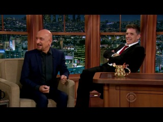 The Late Late Show with Craig Ferguson  Ben Kingsley