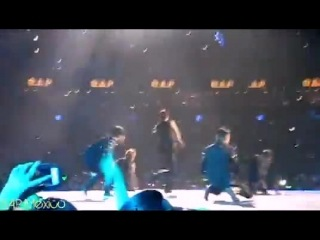 [fancam] [30.10.14]  music bank in mexico, b.a.p  - one shot