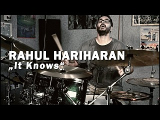"Meinl Cymbals Rahul Hariharan ""It Knows"" Drum Video"