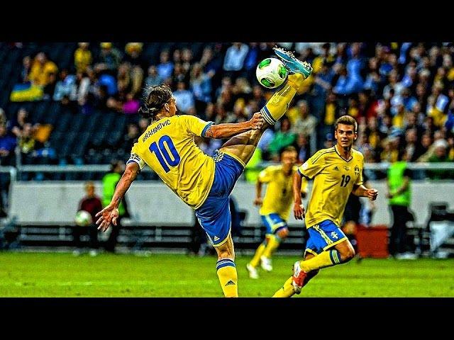 Zlatan Ibrahimović - Craziest Football Skills   Controll Ball, Nutmegs, Goals   Football - 1080HD