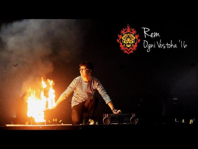 Rem Fire Fan Performance @ Ogni Vostoka '16