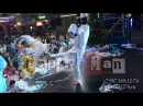 Бумажное шоу на детской новогодней дискотеке