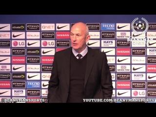 Tony pulis' short press-conference