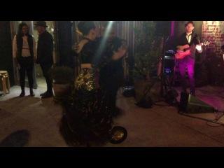 eric and chantal turro martinez at cubana event intercambio 2016