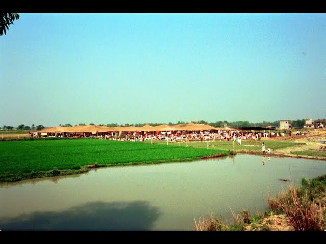 09 Nov 1993 Srila Gurudeva leads Katyayani puja at Cira ghata