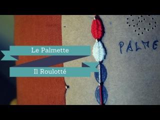 TOMBOLO - Eseguire Palmette e Roulotté
