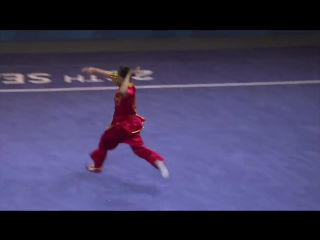 Wushu womens optional changquan (day 2) 28th sea games singapore 2015