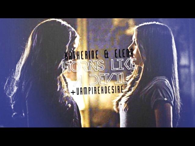 ► Katherine Elena | Horns Like a Devil [vampirexdesire]