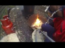 Reduction in Raku firing!