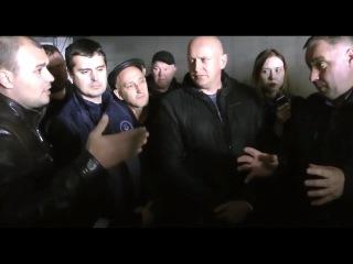 Андрей Бажутин лидер ОПР прибыл поддержать бастующих дальнобойщиков Оренбурга