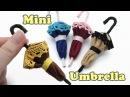 DIY Mini Doll Accessories Umbrella Felt Craft