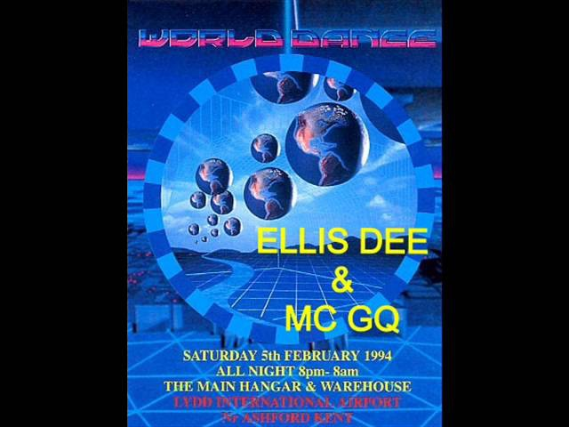 Ellis Dee Mc GQ @ World Dance @ Lydd Airport 5th February 1994