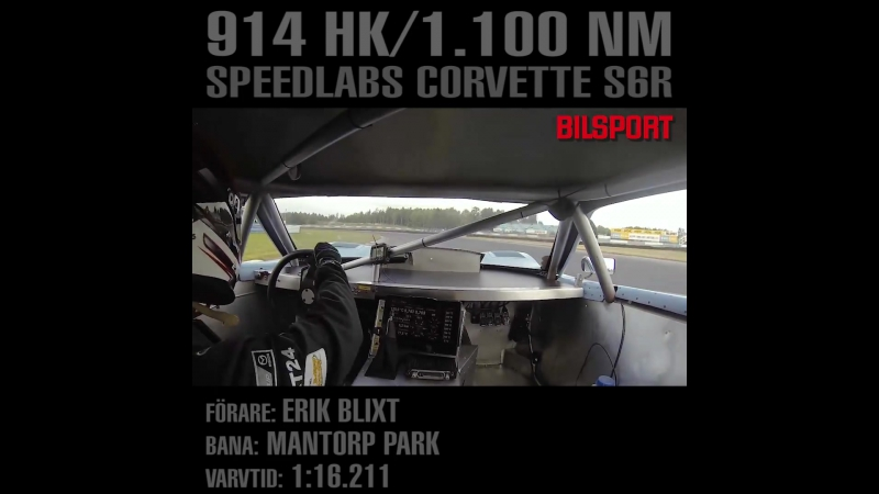 Some serious speed at Mantorp Park (Sweden) during TimeAttack Festival, organized