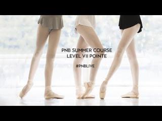 PNB Summer Course 2017 - LIVE - Level VII Pointe Class