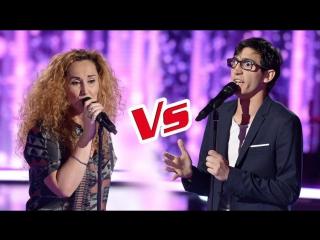 The Voice 6 : ep.8 Vincent_Vinel_VS_Guylaine
