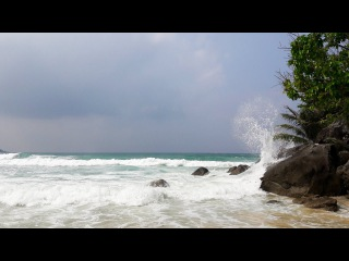 Тайланд. Часть I. Андаманское море. Пхукет. Пляж Ката/Thailand in December. Phuket. Kata Beach