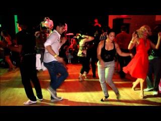 Melanie Castillo & Jean Franco Vergaray - Boston Salsa Festival (Social Dancing, Fri - 9/7/12)