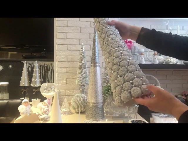 ВСЕ О МОИХ ЕЛОЧКАХ( 2 часть))Декор на НГ! На Рождество! DIY Christmas decor