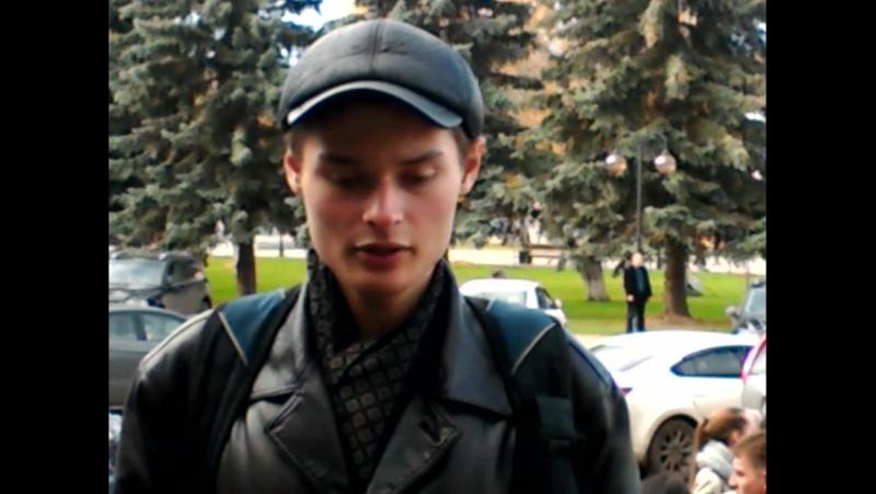 Сергей Стойкович о походе рабочих в администрацию Серпухова 20.10.2017