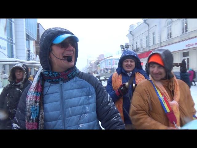 Харинама с Маладхарой, регги-киртан с экстатичным продолжением.Эпизод 3. 18.11.2017. Екатеринбург