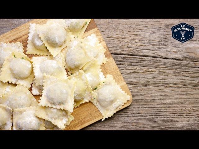 Fresh Meat Filled Ravioli Le Gourmet TV Recipes