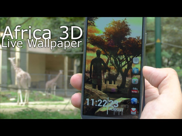 Africa 3D Pro LWP review