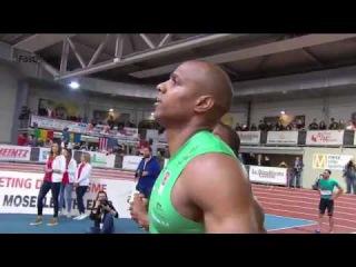 Christophe Lemaitre lost Men's 60m Final Metz Indoor Meeting 2017