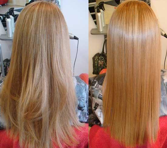 Кератиновое выпрямление волос в тюмени