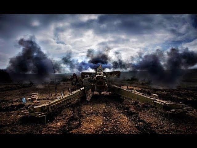 Артилерія ЗС України в зоні АТО. Час розгортання - 10 хв