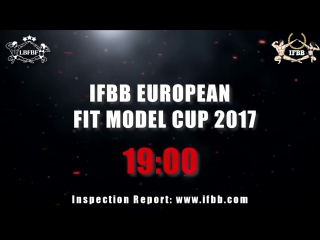 Ifbb european fit model cup 2017