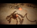 Burnt wood text effects and image animation After Effects tutorial