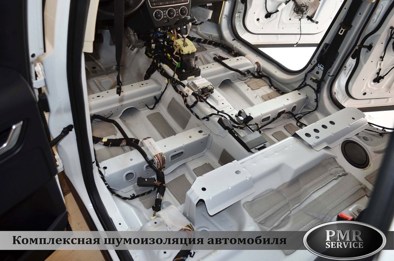 Комплексная шумоизоляция Land Rover Freelander 2, изображение №5