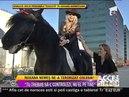 Roxana Nemes a luat lectii de calarie! - Acces direct cu Simona Gherghe, Antena1