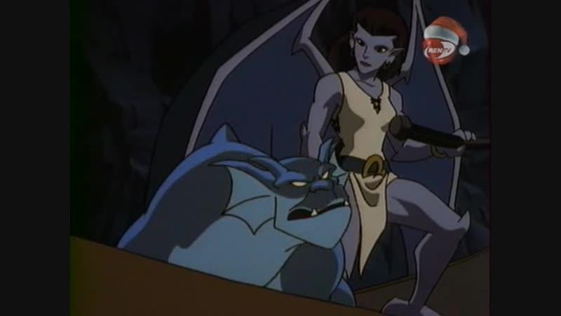 Гаргульи Gargoyles Тени прошлого 37 Серия