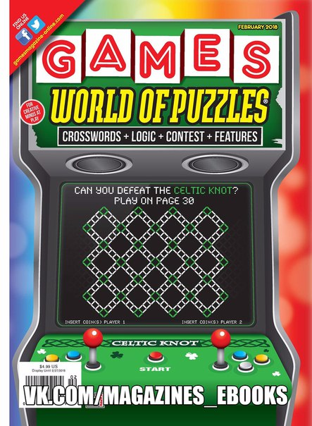 Games World of Puzzles  February 2018