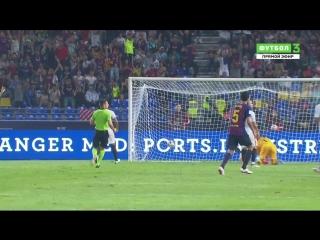 Суперкубок Испании. Севилья  Барселона. Гол Дембеле 1:2
