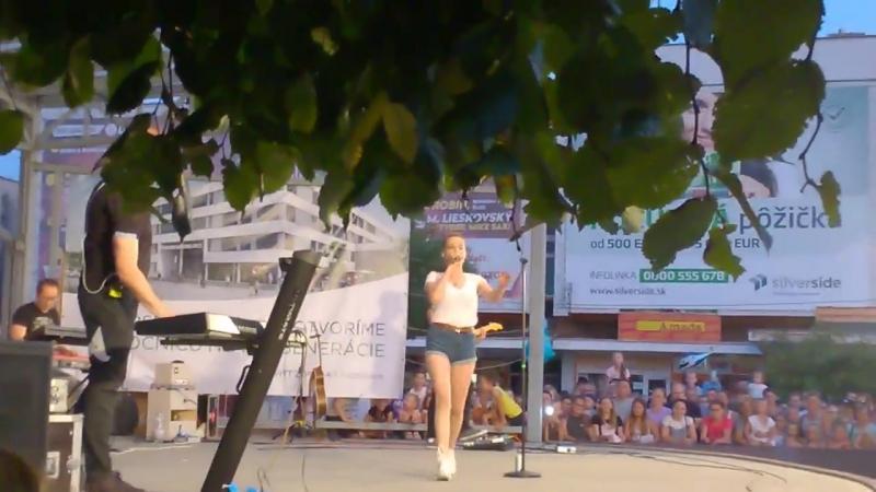 Kristína Tancuješ mi v srdci časť 2 18 08 2017 Michalovce