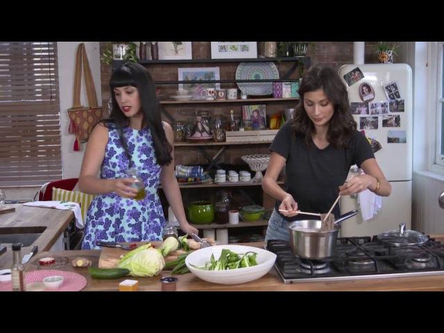 Green Goddess Noodle Salad by HEMSLEY HEMSLEY