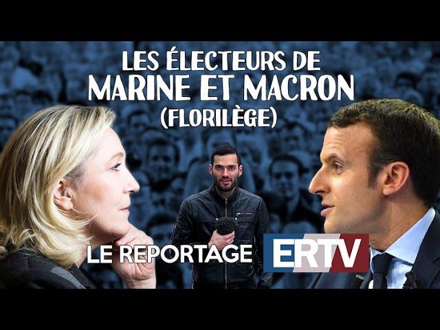Les électeurs de Marine et Macron (florilège) - Les reportages de Vincent Lapierre