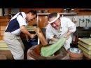 Japanese Street Food – SUPER FAST MOCHI POUNDING